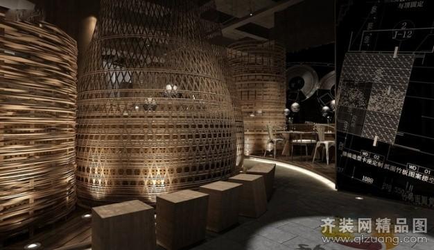 如木装饰茶餐厅古典风格装修效果图