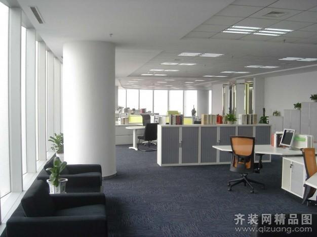 办公室装修现代简约装修效果图