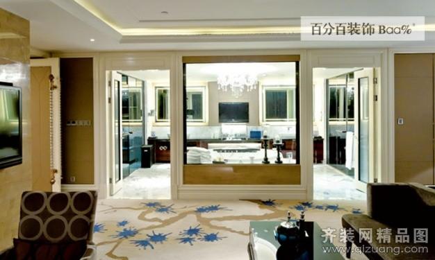 安徽百分百装饰某酒店总统套房欧式风格装修效果图20