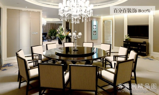安徽百分百装饰某酒店总统套房欧式风格装修效果图