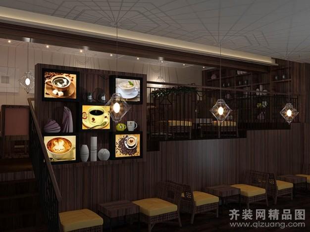 宏唐装饰研磨时光咖啡馆欧式风格装修效果图