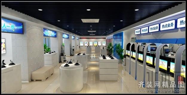 装饰中国移动4g体验店【水木石】混搭风格装修效果图