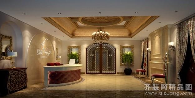 清土168装饰skx美容spa会所欧式风格装修效果图2013