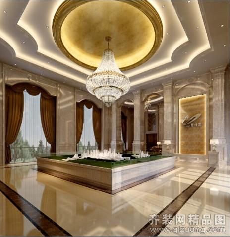 安徽斧金装饰售楼接待中心欧式风格装修效果图