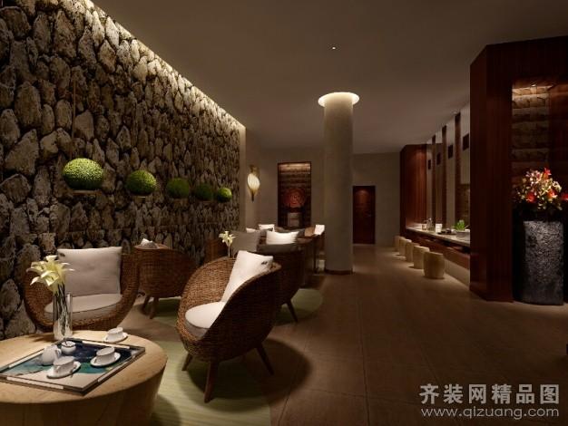 安徽斧金装饰音乐餐厅美式风格装修效果图