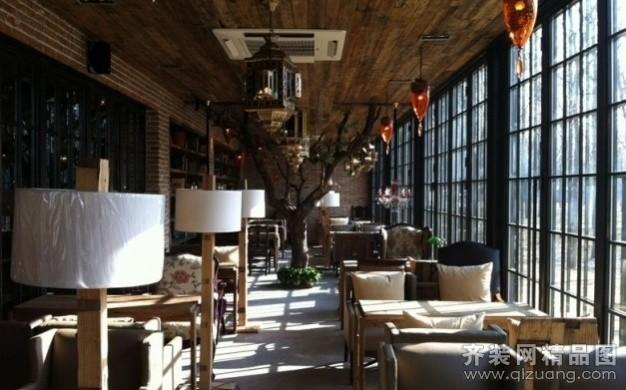 楼盘:商业街咖啡馆 房屋类型:店面/商铺/厂房装修