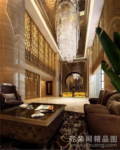 安徽斧金装饰休闲酒店欧式风格装修效果图