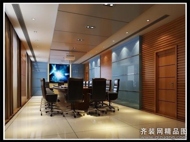清土168装饰会议室现代简约装修效果图