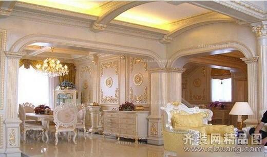 安徽斧金装饰婚纱影楼欧式风格装修效果图