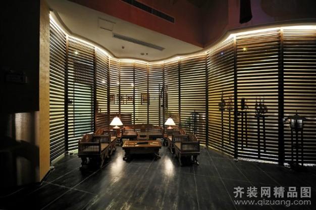 办公室/写字楼装修 房屋面积:320平米 装修类型:公装 设计风格:中式风图片
