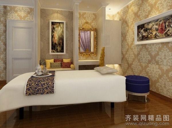 湖南品尚装饰公司紫月居美容院装修欧式风格装修效果