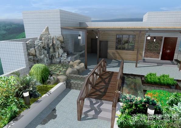 量浩国际屋顶花园其它装修效果图
