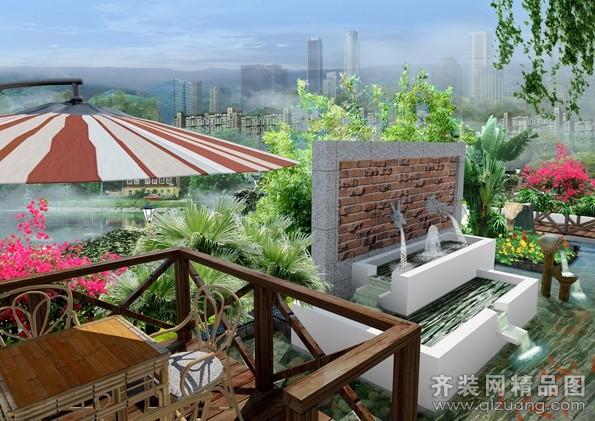 屋顶花园装修图片