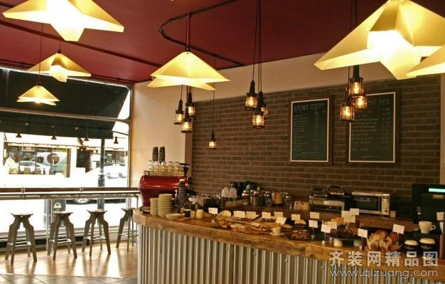 荣庭装饰咖啡厅古典风格装修效果图