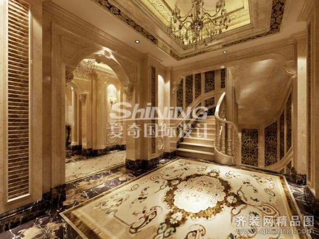 夏奇国际设计皇冠别墅欧式风格装修效果图2013