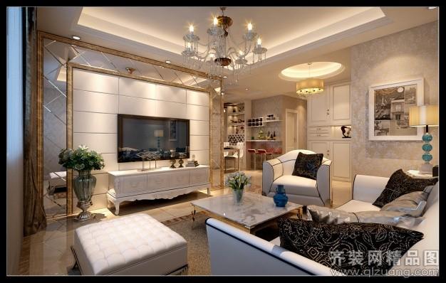台州瓦良装饰欧式现代简约装修效果图