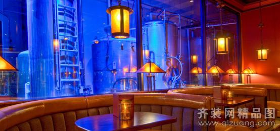 豪庭装饰酒吧欧式风格装修效果图2013