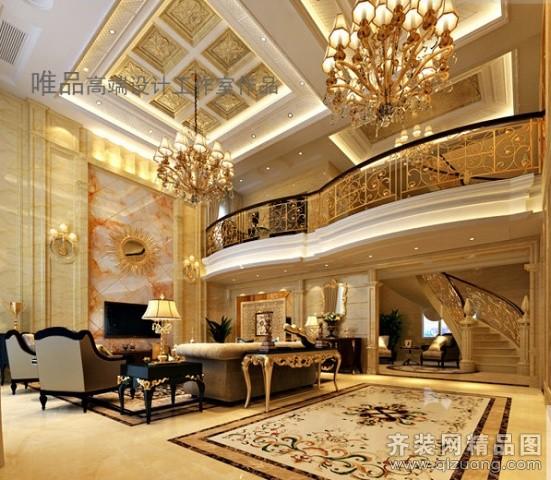 凯文装饰苏州公司区总自建别墅欧式风格装修效果图