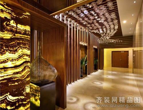吴江豪堂装饰足浴会所欧式风格装修效果图2014图片