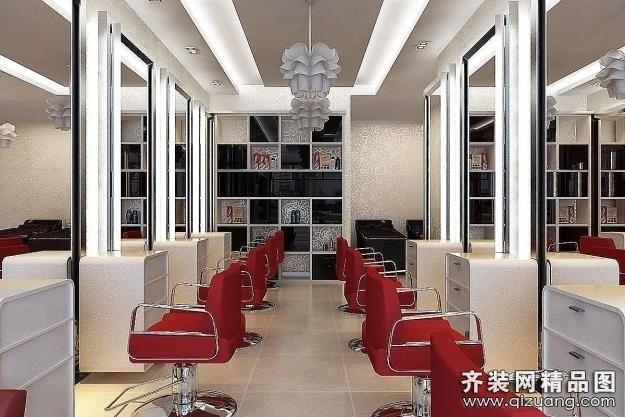 30平方理发店装修图