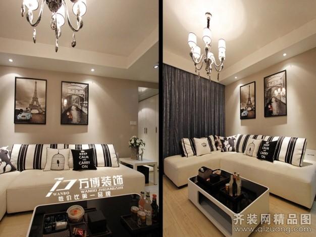 万博装饰金鼎公寓欧式风格装修效果图