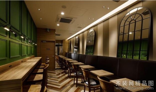 陕西家居乐装饰咖啡厅中式风格装修效果图