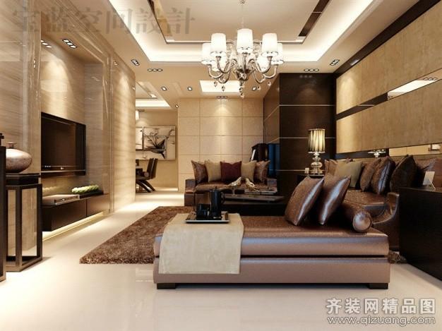 宝蓝空间设计百瑞景中式风格装修效果图2014