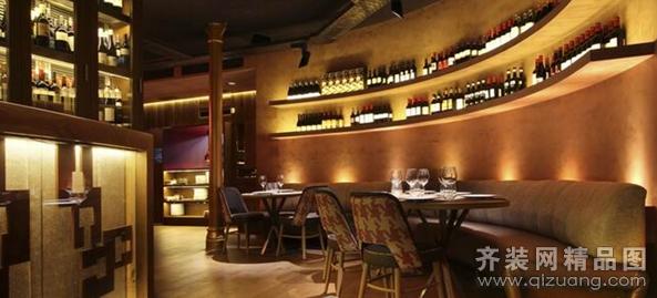 苏州居泰隆装饰餐厅酒吧欧式风格装修效果图2014