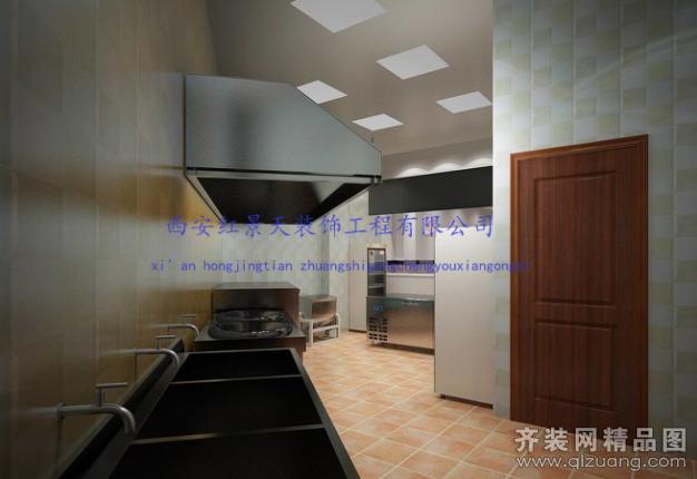 西安红景天包子铺餐饮设计其它装修效果图2014
