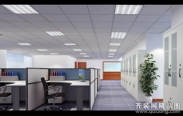 苏州金诺装饰办公写字楼现代简约装修效果图
