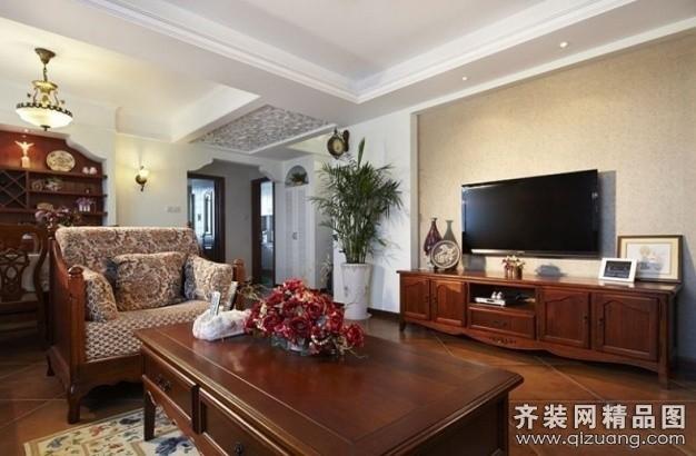 家裝案例 東洲裝飾【御景城美式風格裝修效果圖圖片