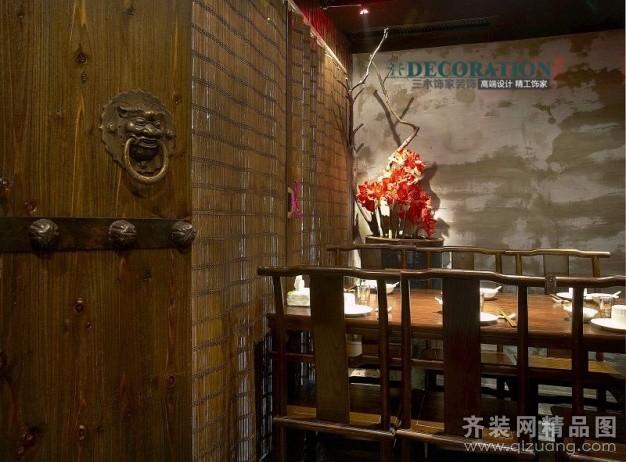 三木饰家装饰江湖龙虾餐厅现代简约装修效果图