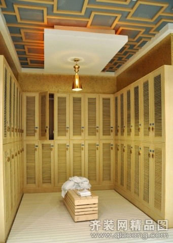 番禺名匠装饰某足浴会所欧式风格装修效果图