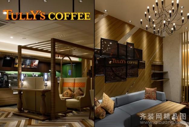 陕西家居乐装饰咖啡厅古典风格装修效果图