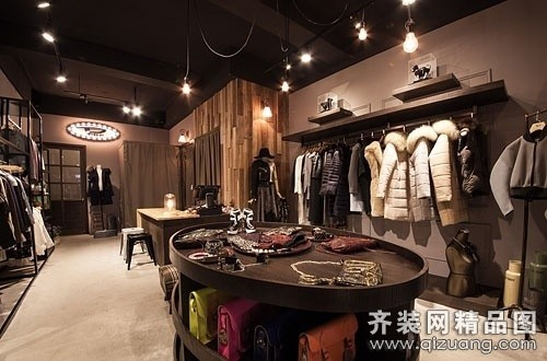 北京宜美家园装饰服装专卖店古典风格装修效果图