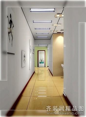 西安景图装饰过道吊顶现代简约装修效果图2014