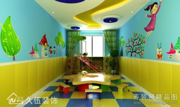 幼儿园装修素材
