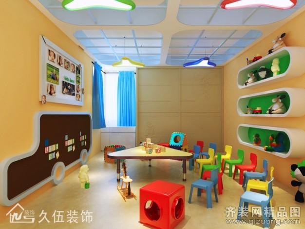 800平幼儿园装修费用