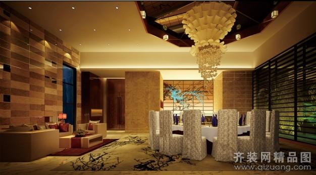 苏州嘉鹏装饰生态餐厅现代简约装修效果图