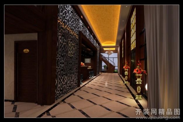 温州源艺装饰南塘咖啡厅欧式风格装修效果图2012