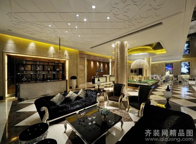 苏州创联装饰上城国际售楼中心欧式风格装修效果图