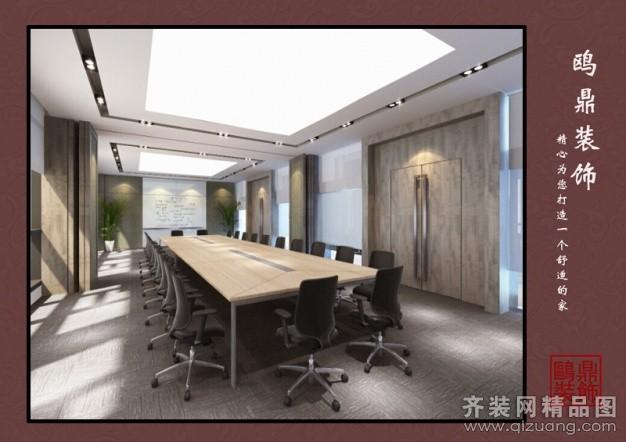 江苏鸥鼎建筑装饰前州办公室现代简约装修效果图