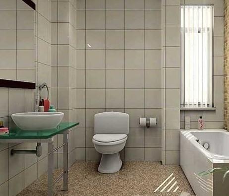 卫生间瓷砖颜色与壁砖的搭配要整体