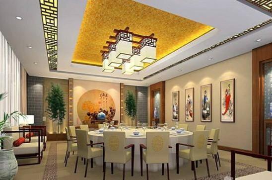 中式饭店装修效果图 ,哎呀哎呀不错啊!