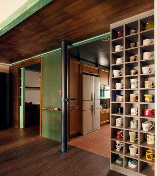 【远景盛世装饰】文艺复古小清新的木质创意室内设计