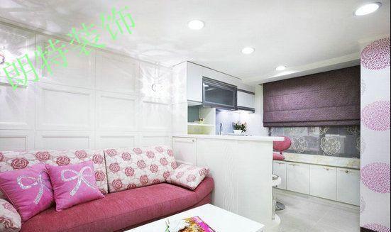 【朗特装饰】40平米单身公寓装修效果图