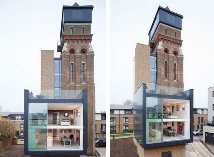 伦敦水塔改造现代奢华公寓