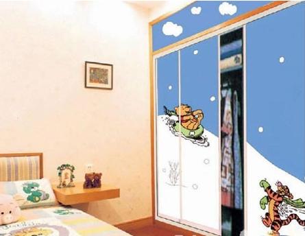 【朗特装饰】儿童衣柜