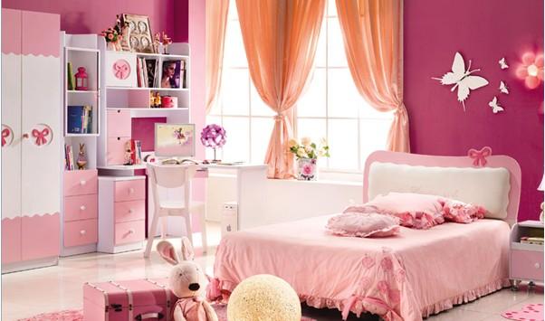 粉色比较柔和,一直被认为是可爱浪漫的小女生