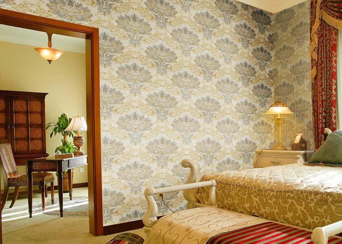 免胶墙布与普通墙布的选购 家庭墙壁装饰材料